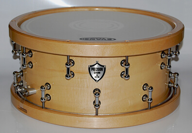 Natural wood snare gallery